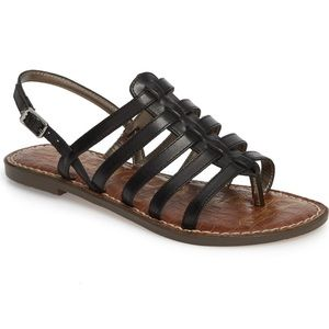 Sam Edelman Garland Leather Sandal NEW $90